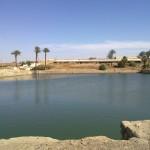 Heiliger See im Tempel von Karnak