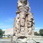 Memnon-Koloss mit Teje