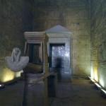 Heilige Barke im Tempel von Edfu