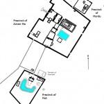 Lageplan des Tempels von Karnak