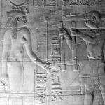 Isis im Tempel von Philae