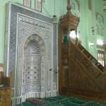 Gebetsnische und Kanzel in der El Tabia Moschee