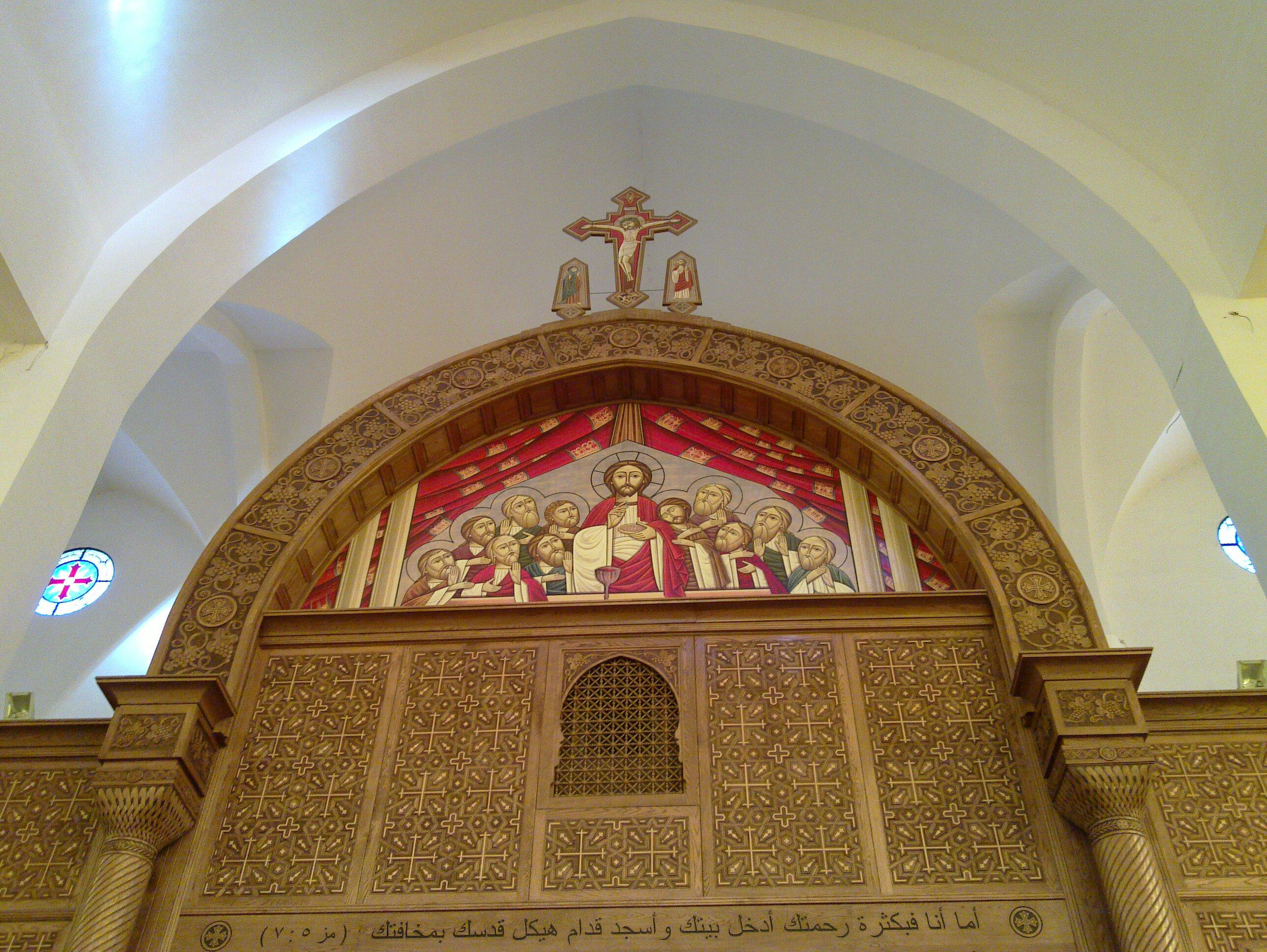 Altar der Erzengel Michael Kathedrale
